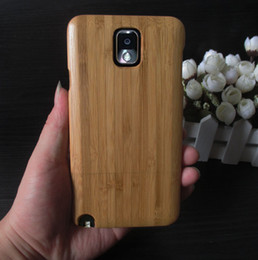 Wholesale Cheap Galaxy Note3 - 100% natural wooden case phone cover for samsung galaxy note3 high quality real wood case for note3 mobile phone cheap price free shipping