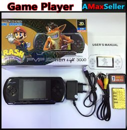 Wholesale Digital Portable Tv Games - Hot 8 Bit Digital Pocket Game Console 2.5 inch PVP LCD Screen New PVP Portable Handheld game player with free Game Card For Christmas gift