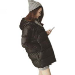 Wholesale Girls Feathers Down Winter Coats - 2017 Hot Sale Women's Winter Thick Warm Hooded Down Coat Fashion Jacket Female Girls Student Plus Size Outwear Parkas