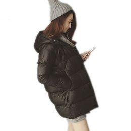 Wholesale Down Coat Girl Sale - 2017 Hot Sale Women's Winter Thick Warm Hooded Down Coat Fashion Jacket Female Girls Student Plus Size Outwear Parkas
