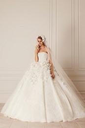 Vestidos de casamento da flor do vintage na moda sexy sem encosto sem mangas vestidos de princesa custom strapless vestido de noiva plus size de