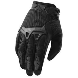 Wholesale finger bmx - 2016 New Spectrum Motocross Racing Gloves BMX ATV MTB MX Off Road glove Dirt Bike bicycle cycling Motorbike Motorcycle gloves