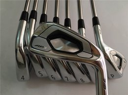 Wholesale Forge Club - AP3 718 Iron Set AP3 718 Golf Forged Irons Golf Clubs 3-9P(8PCS) R S-Flex Steel Shaft With Head Cover