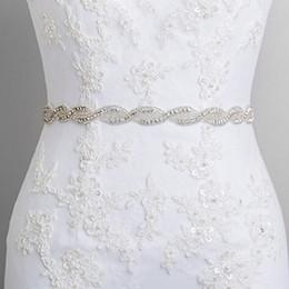 Wholesale Ribbon Spots - Bridal belts Ellie's Bridal Boutique hot spot trade in Europe and America diamond wedding accessories headdress dual ribbon