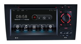 Wholesale Audi Gps Stereo - Android 7.1 Car DVD Player GPS Navigation for 1997-2004 Audi A6 with Radio Bluetooth USB AUX SD Video Stereo WIFI 1024*600
