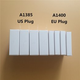 Wholesale Iphone Original Quality Charger - 50pcs Original Quality 5V 1A US EU Plug USB AC Power Charger Wall Adapter charging Charger A1385 A1400 With retail box