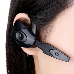 Wholesale Wireless Pc Headset Mic Stereo - Wholesale-KKMOON EX-01 In-ear Wireless Stereo Bluetooth Gaming Headset Headphones Earphone Handsfree with Mic for PS3 Smartphone Tablet PC