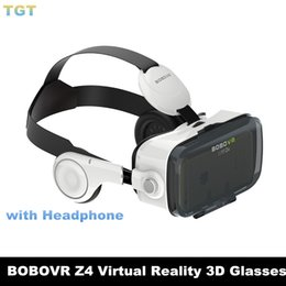 Wholesale Dhl Virtual Video Glasses - DHL BOBOVR Xiaozhai Z4 3D VR Glasses 3D Virtual Reality Glasses Binocular Immersive Private Theater 3D Movie Video with headphone headset