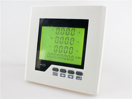 Wholesale Alarm Panels - ME-3D2Y lcd digital panel power meter, three phase Multifunction Meter with alarm output function and RS485 communication