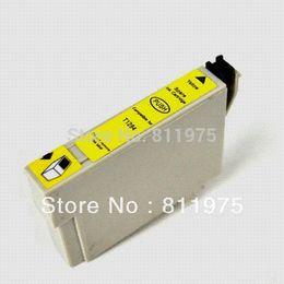 Wholesale Epson Stylus Sx425w - 11 pcs T1281 4color compatible ink cartridge For EPSON Stylus S22 SX125 SX130 SX230 SX235W SX420W SX425W SX430W SX435W printer