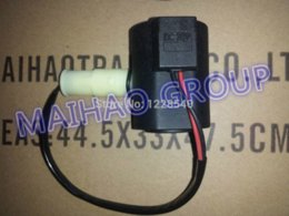 Wholesale Wholesale Solenoid Coils - 2 PCS Solenoid Valve Coil 14527267 for VOO Excavator EC140B EC160B EC180B EW145B FREE SHIPPING coil earpiece