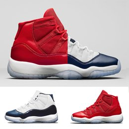 best sneakers 4d1cd a4de5 Nike Air Retro 11 Jordan Basketball Shoes 2018 New Gym rot 11 Space Jam  Bred Gamma Blau Basketballschuhe Herren Damen 11s Concords 72-10 Legend  Blau Cool ...