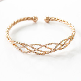 Wholesale American Curves - 2017 new fashion Vintage Curved ethnic punk gold Cuff Bracelet brand boho Hollow out bracelet bangles women Jewelry wholesale free shipping