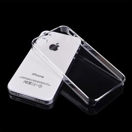 Wholesale Wholesale Iphone5c Cases Dhl Free - Iphone case Slim Transparent PC Hard shell Case For Apple Iphone6  4.7 Iphone6 plus  5.5 Iphone5C Iphone5   5S Iphone4   4S Free DHL