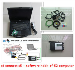 Wholesale Wifi Connector Laptop - 2017.07 Top-Rated Professional MB Tester mb c5 star for Benz diagnosis multiplexer with Laptop CF-52 toughbook