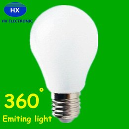 Wholesale Globe Brand - Brand New 9W 7W 5W 3W E27 Led Lights Globe Lamp CRI>88 360 Degree Angle High Bright Led Bulbs Light AC 85-265V