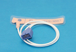 Wholesale Nellcor Oximax Spo2 Sensor - Wholesale-Nellcor Oximax Disposable SpO2 Sensor Oximetry Probe Neonate Adult, Adhesive, 9pin, Pack of 10pcs