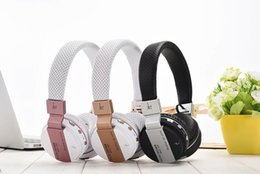 Wholesale Earphones Bluetooth Radio - Hot Sell JKR-209B Wireless Stereo Bluetooth 3.0 + EDR Headband Earphone Headset with Mic MP3 FM Radio for Smart Phones Tablet PC