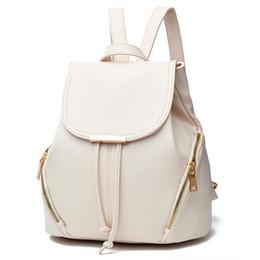 Borsa casuale dello zaino dei sacchetti di spalla online-Moda Borse Donna Casual Zaino Stile Borsa Moda Scuola Zaino in pelle Nuova spalla Mini Borsa per le donne all'ingrosso