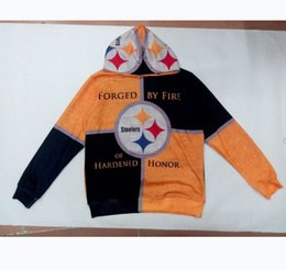 Wholesale Sublimation Clothes - Wholesale-Real USA size 3D Sublimation Print OEM Hoody Hoodie Custom made Clothing 11