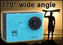 Wholesale Gopro Wholesalers - Eken H9 H9R action camera 4K wifi Ultra HD 1080p 60fps 170D Go waterproof mini cam pro sports camera gopro hero 4 style