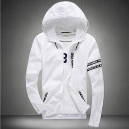 Wholesale Stylish Sports Jackets - Fall-2016 Stylish Fashion High Quality Sport Jacket Coats, Men Causal Hooded Outdoor Jacket,Men Thin Windbreaker Zipper Coats Outwear