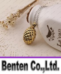 Wholesale Egg Dragon - Game of Thrones dragon egg necklace Fashion movie A Song of Ice and Fire GAME OF THRONE dragon egg pendant LLFA9003