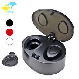 Wholesale Pro Bluetooth Headset - K2 Pro Mini Twins True Wireless Bluetooth Stereo Headset Sport Headphone In-Ear Earphones Earbuds Earpieces Charging Socket for Smartphone