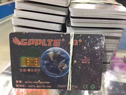 Wholesale Gpp Chip Iphone - GPPLTE 4G+GPP newest black smart chip 100% auto Neter Air Unlock Sim iPhone 7 6S 6 5S 5 Plus + LTE iOS10 R SIM11 GPP Unlocking Sim Free DHL