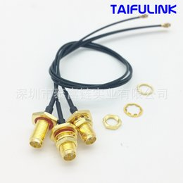 Wholesale Sma Extension Cables - Factory Ipex Turn Sma Antenna Cable Extension Cord Waterproof Sma Head Wireless Wifi Turn Wire Feeder