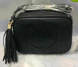 Wholesale Ribbon Characters - Single shoulder bags brand fashion messenger bag High quality chain tote 2017 European and American popular women's designer Tassel bag