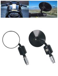 Wholesale Rearview Mirrors For Kawasaki - 5 color Universal Rear Side View Rearview Mirrors FOR BMW KAWASAKI YAMAHA KTM