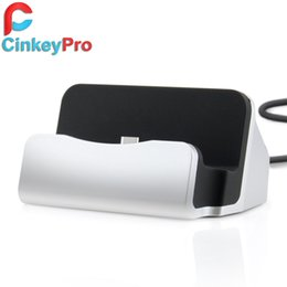 Wholesale Mobile Phone Charger Station - Wholesale-CinkeyPro Type-C Charger Dock Holder Station USB 3.1 Type C Sync Adapter Mobile Smart Phone Charging Device For Letv OnePlus 2