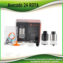 Wholesale Velocity Systems - Authentic GeekVape Avocado 24 RDTA Atomizer 5ml Avocado 24 Tank 100% genuine with Velocity deck with Hinge lock fill system 2230006
