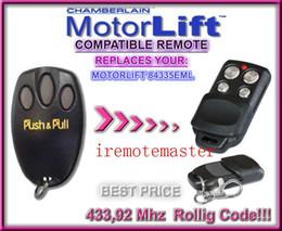 Substituição remota do código rodoviário on-line-Compatível com controle remoto de Motorlift 84335EML, 133,92Mhz Rolling code replacement remote