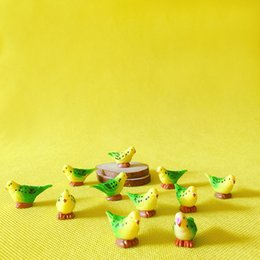 10 шт./маленькая птица / кукольный дом/ / миниатюры / прекрасный милый / сказочный сад гном / мох террариум декор / ремесла / бонсай / DIYsupplies / фигурка от Поставщики маленькие фигурки