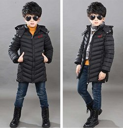 Wholesale Girls Winter Jackets Size 14 - baby girl and boy sport Medium and long style coat kids children winter jacket style size for 8-14 years kids winter coat.