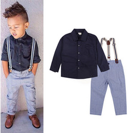 Wholesale Outlet Costumes - Wholesale 2016 Factory Outlet Baby Boys Clothing Set Children Clothing Set Fashion Kids Costumes Free Shipping