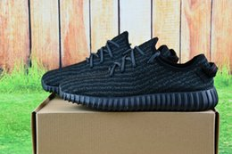 Wholesale Fasion Shoes - Wholesale 2017 Discount Kanye Milan West Y Boost 350 Men's & Women's 2016 Outdoor Shoes Fasion Sports Running Shoes Free Shipping With Box