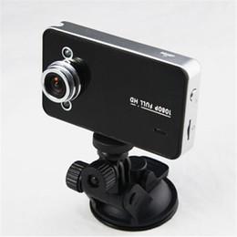 Wholesale Free Dashboard Camera - DVR K6000 NOVATEK 1080P Full HD LED Night Recorder Dashboard Vision Veicular Camera dashcam Carcam video Registrator Car DVR free DHL