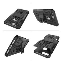 Cubierta rígida de lujo para Kickstand Impact, una funda resistente para Sony Xperia E5 Armadura resistente para Iphone 7 / Plus / Galaxy Note7 Dazzle PC duro + piel suave de TPU desde fabricantes