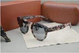 Wholesale Transparent Lenses - NEW sunglass gafas de sol polarized sun glasses semi transparent jelly oculos shell frame sunglasses men women