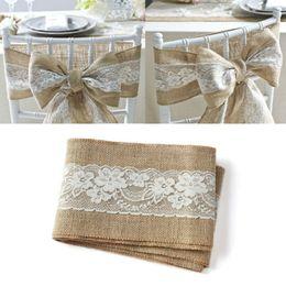 2019 sagome di bordo oro burgundy decorazione della sedia di nozze vintage tela di pizzo nastro telai di pizzo nastro sedia archi 15x240 cm / pz