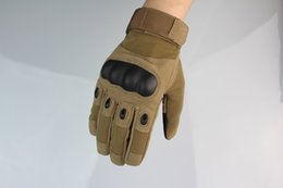 Wholesale High Cs - 1pair! High quality outdoor camping gloves sports Tactical gloves CS riding glove Army funs best gift for men