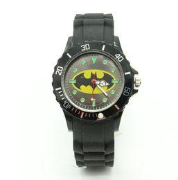 Wholesale Fashion Express - 2016 Cartoon Children Brand Watch batman Watches Fashion boy Kids express silica quartz WristWatch Gift relojes