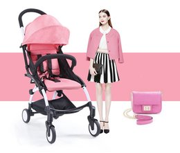 Wholesale Stroller Baby Price - Wholesale- Fashion poussette mother prams Pink portable Baby Stroller foldable small size Light good quality folding stroller factory price