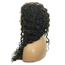 Wholesale Lace Front Wigs Promotions - Promotion Full Lace Wig 9A Soft Brazilian Virgin Human Hair Body Wave Glueless Lace Front Wigs For Black Women