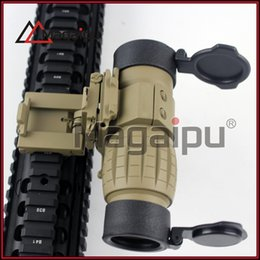 Wholesale Tactical Side Scope Mount - Tactical 3X Magnifier Rifle Scope with Flip to Side Mount Fit Aimpoint Scope Sight for Hunting