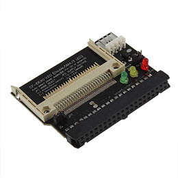 Wholesale Cf Card Ide Adapter - 40 Pin IDE Bootable Adapter Compact Flash CF to 3.5 Female Converter Card Wholesale PromotionHot New Arrival