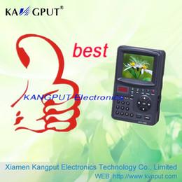 KPT-968G: el más nuevo diseño de medidor digital de satélite HD DVB-S2 / MPEG4 DVB-S / MPEG2 de 3.5